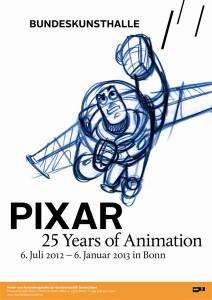 Plakat Pixar Ausstellung