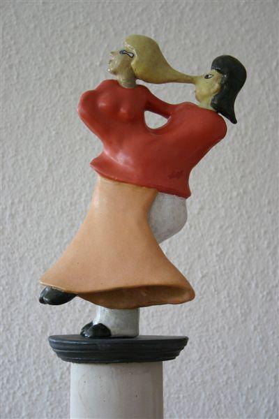 Tanzpaar Rückansicht