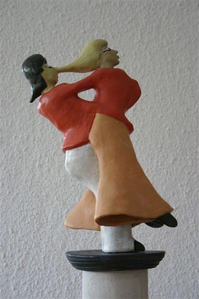 Tanzpaar Vorderansicht