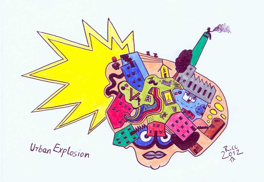 Urban-Explosion