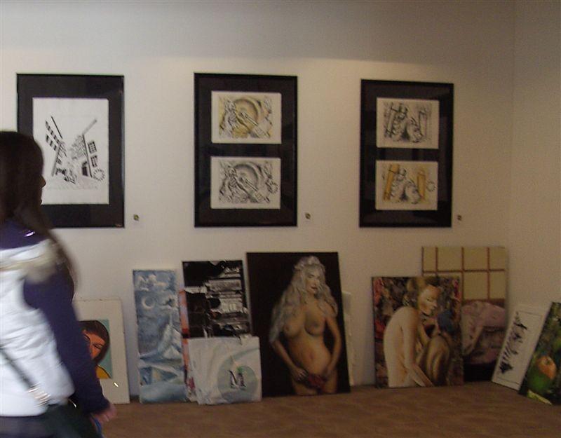 Vorbereitung zur nächsten Ausstellung