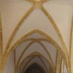 gotische Kirche St. Veit Netzgewölbe (Parlerschen Typs)
