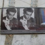 """Plakat: Dauerausstellung """"Egon Schiele""""und Sonderausstellung """"Intissimo"""""""