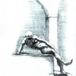 Brunnenfigur - Narziss