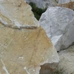 Marmorsteinblöcke