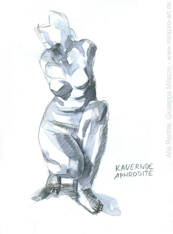 Kauernde Aphrodithe