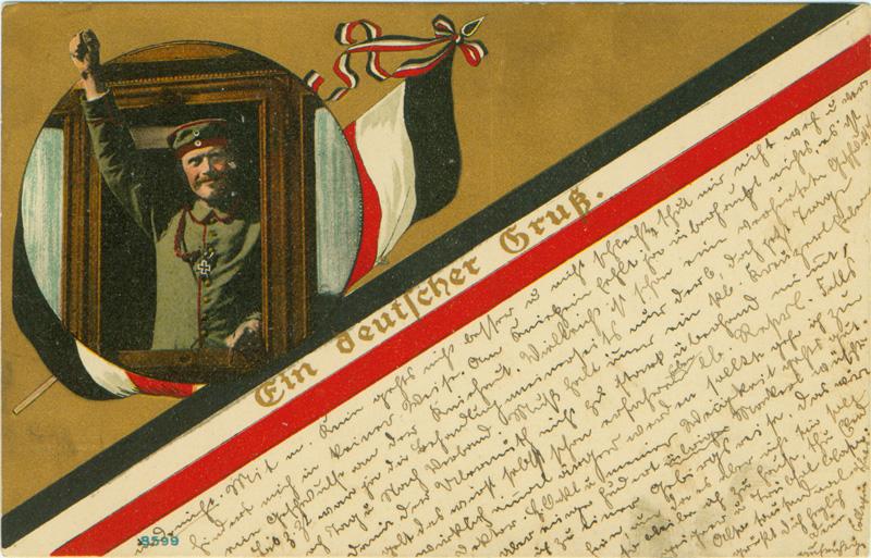 Postkarte Deutscher Gruß von 1915