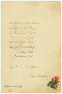 Poesiealbum 1915