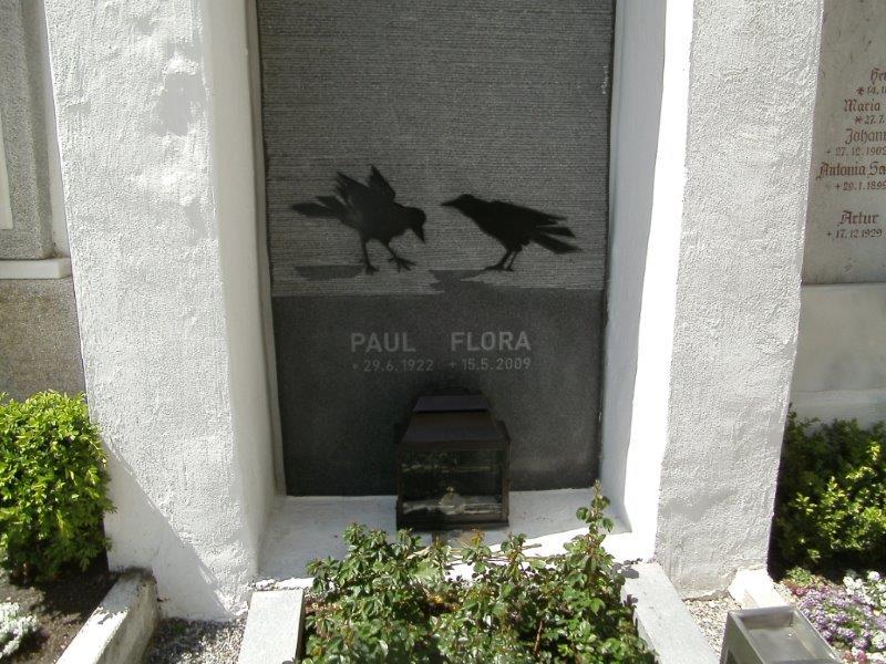 Grab von Paul Flora
