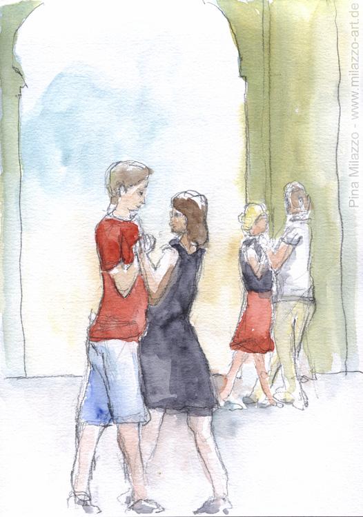Tänzer im Dianatempel