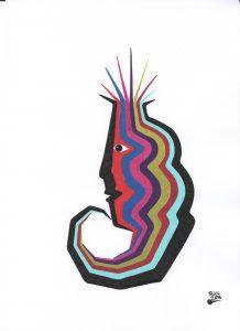 Pigmenttusche 6